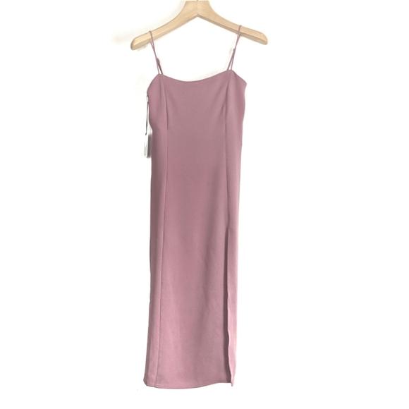 NWT Aritzia Babaton Slit Slip Dress *Flawed